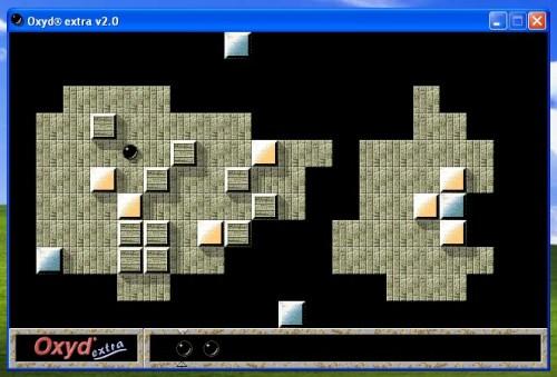 Screenshot OXYD EXTRA auf dem Mac in der VMWare
