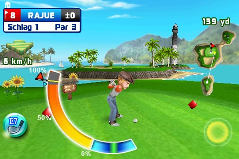 Screenshot: Let's Golf