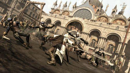 Assassin's Creed II: Sweeping Ezio