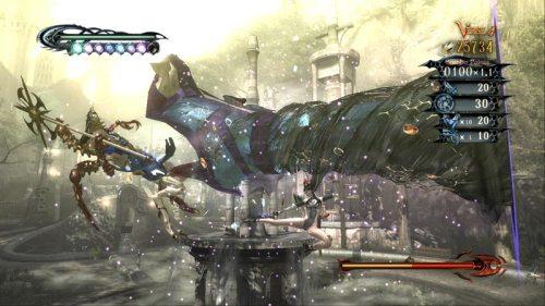 Bayonetta Special Kick