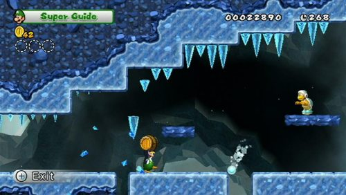 New Super Maro Bros. Wii: Der Super Guide in Aktion