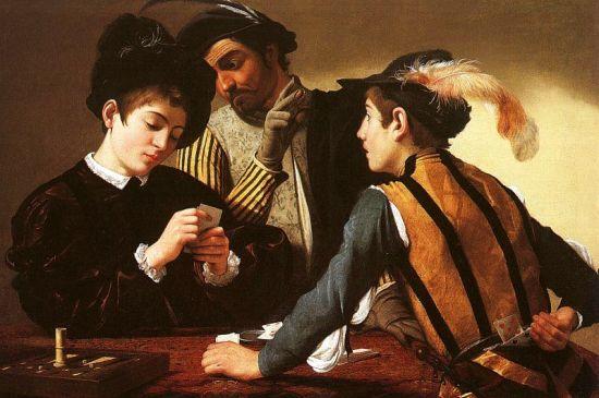 Gemälde von Michelangelo Merisi da Caravaggio, 1594