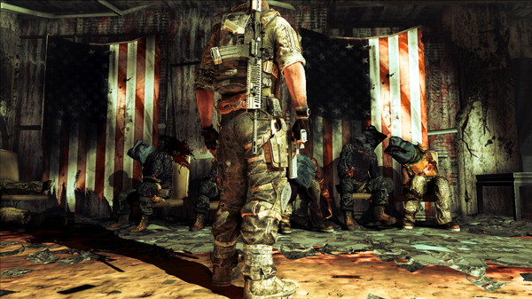 """The star-spangled banner (<a href=""""http://www.specopstheline.com"""">Spec Ops: The Line</a>)"""