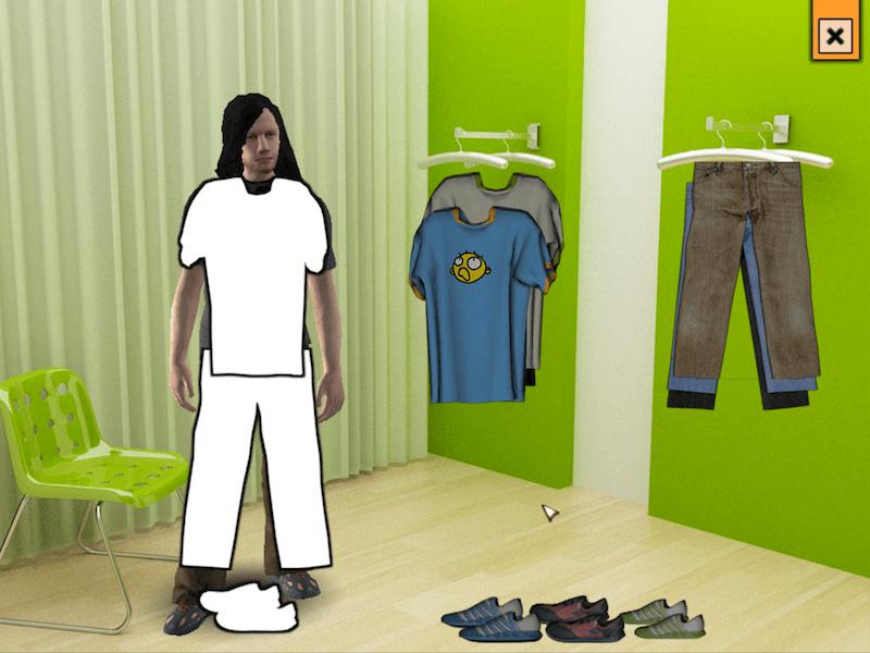 Klamottenkauf oder: das hübscheste Minigame aller Zeiten
