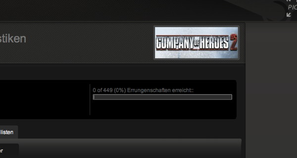 Company of Heroes 2 Achievements