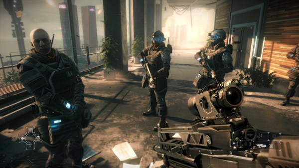 Screenshot aus »Killzone: Shadowfall«