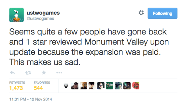 Monument Valley Twitter