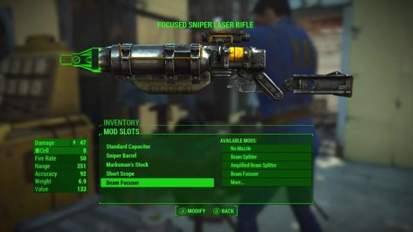 Fallout4 E3 LaserMod
