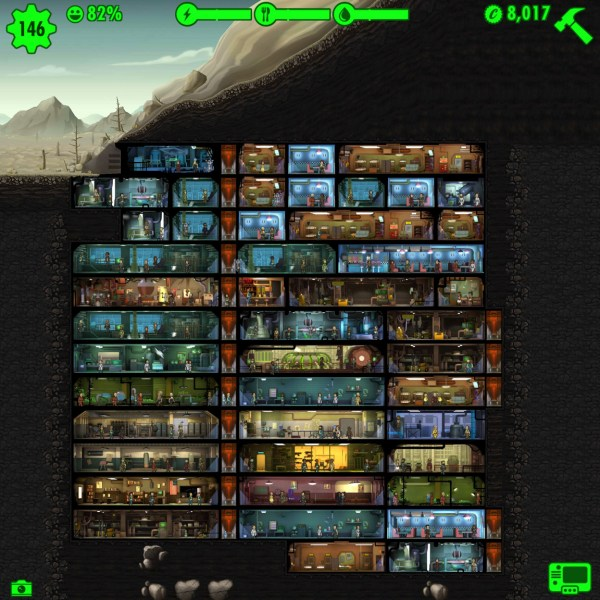 Fallout Shelter: mein Vault