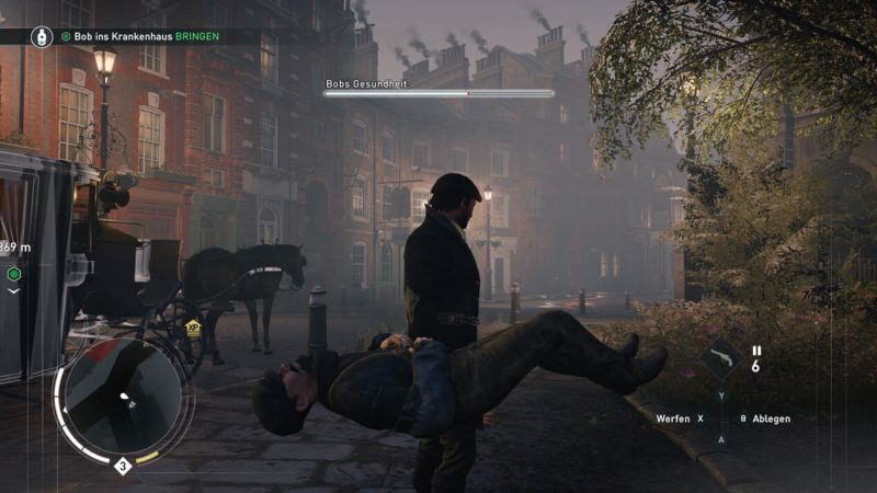 Assassin's Creed Syndicate: Bob geht's gut