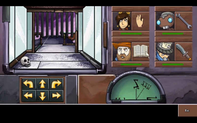 Screenshot Deponia Doomday Minigame Dungeon