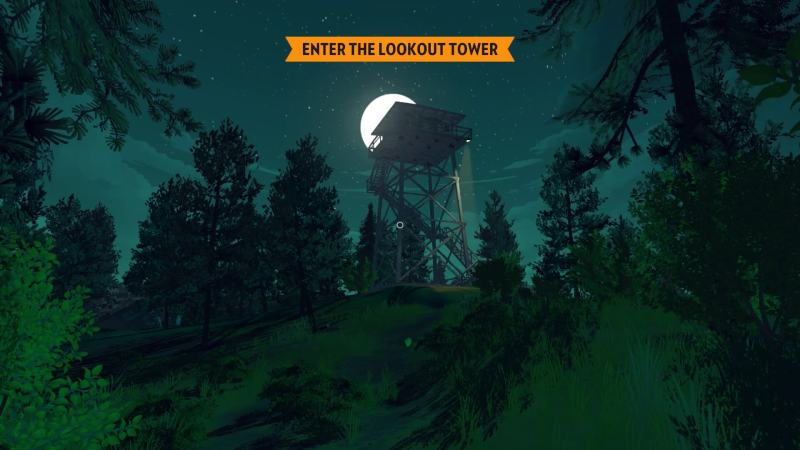 Firewatch: Henrys Turm - Two Forks Tower