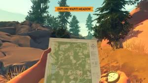 Firewatch: Unterwegs mit Kate und Kompass