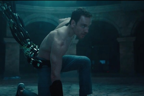 Screenshot aus dem Trailer zu Assassin's Creed mit Michael Fassbender