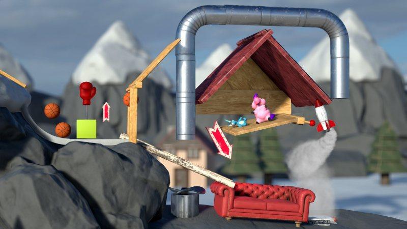Daedalic gamescom Crazy Machines 3 Screenshot