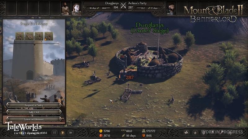 Mount & Blade II: Bannerlord - Kartenansicht