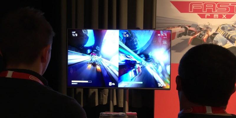 Nintendo Switch F-Zero FAST RMX