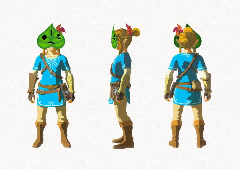 Breath of the Wild DLC: Krog Maske