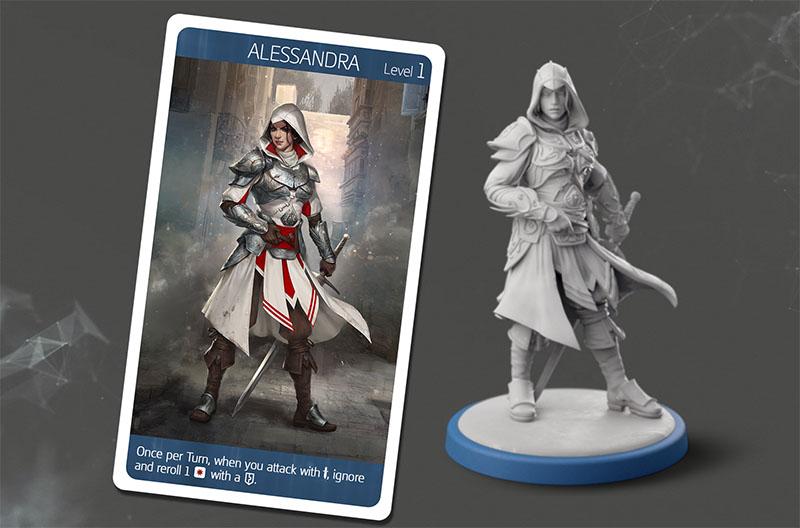 Assassin's Creed Brotherhodo of Venice Figur