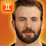 chris evans zodiac sign