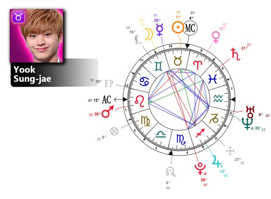 yook sung jae birth chart