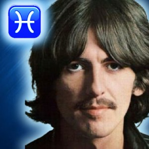 george harrison zodiac sign pisces