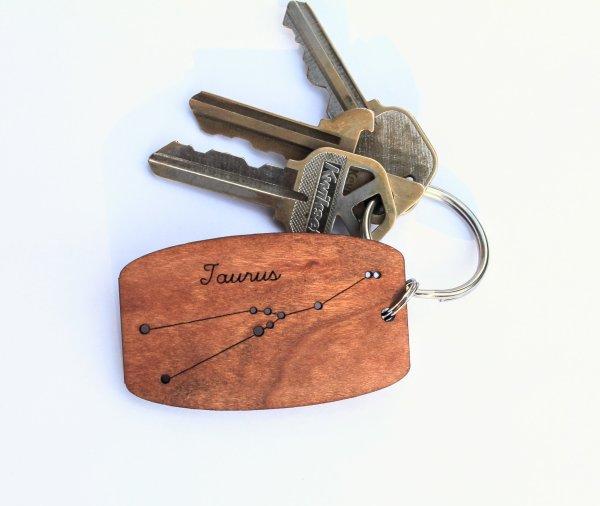 Taurus Keychain