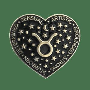 Laser Kitten Taurus Pin