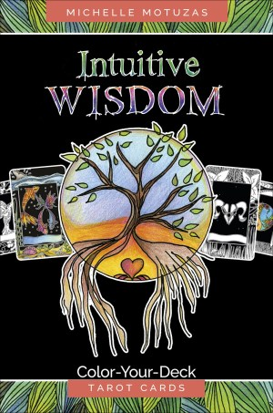 Intuitive Widsom Tarot Deck to Color
