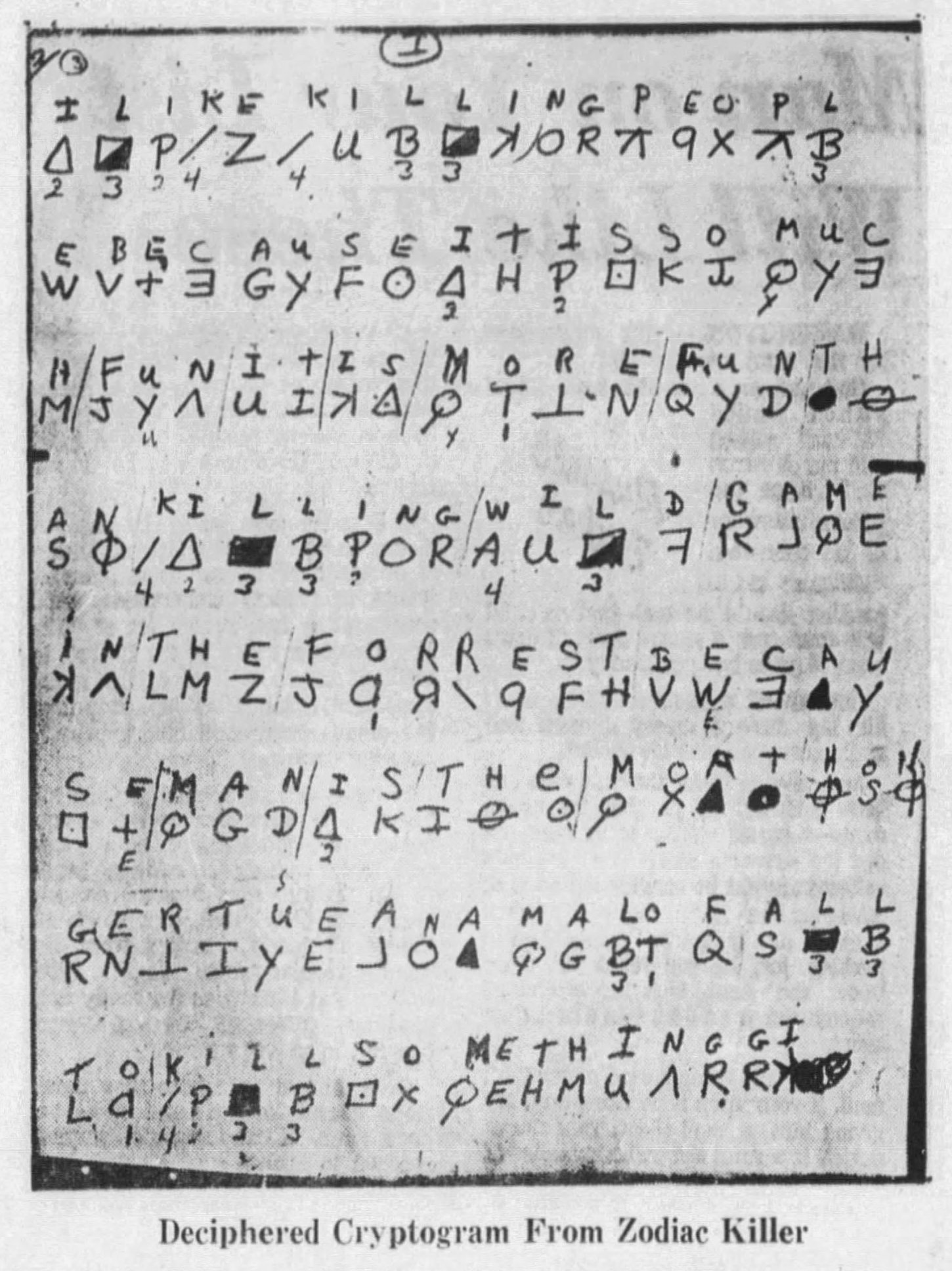Solved 408 Character Cipher