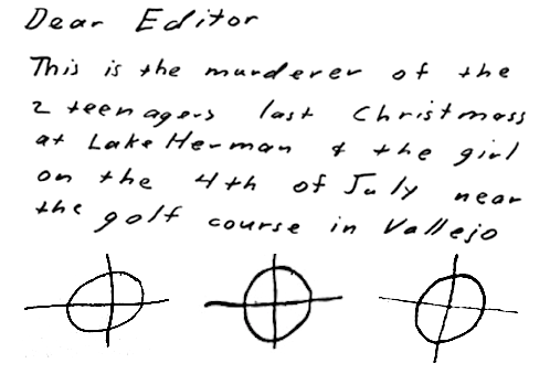 Unfortunately, no explanation has ever been given by zodiac himself for why he chose the infamous crosshairs symbol that is … Zodiac & The Astrological Zodiac