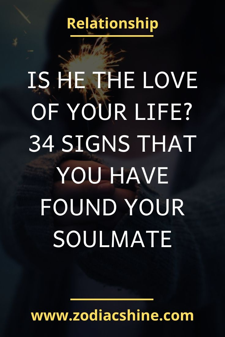 Soulmate he signs my that is 24 Undeniable