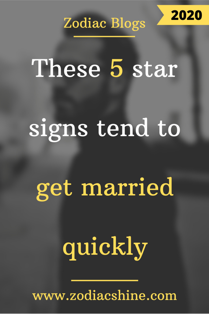Star signs for marriage