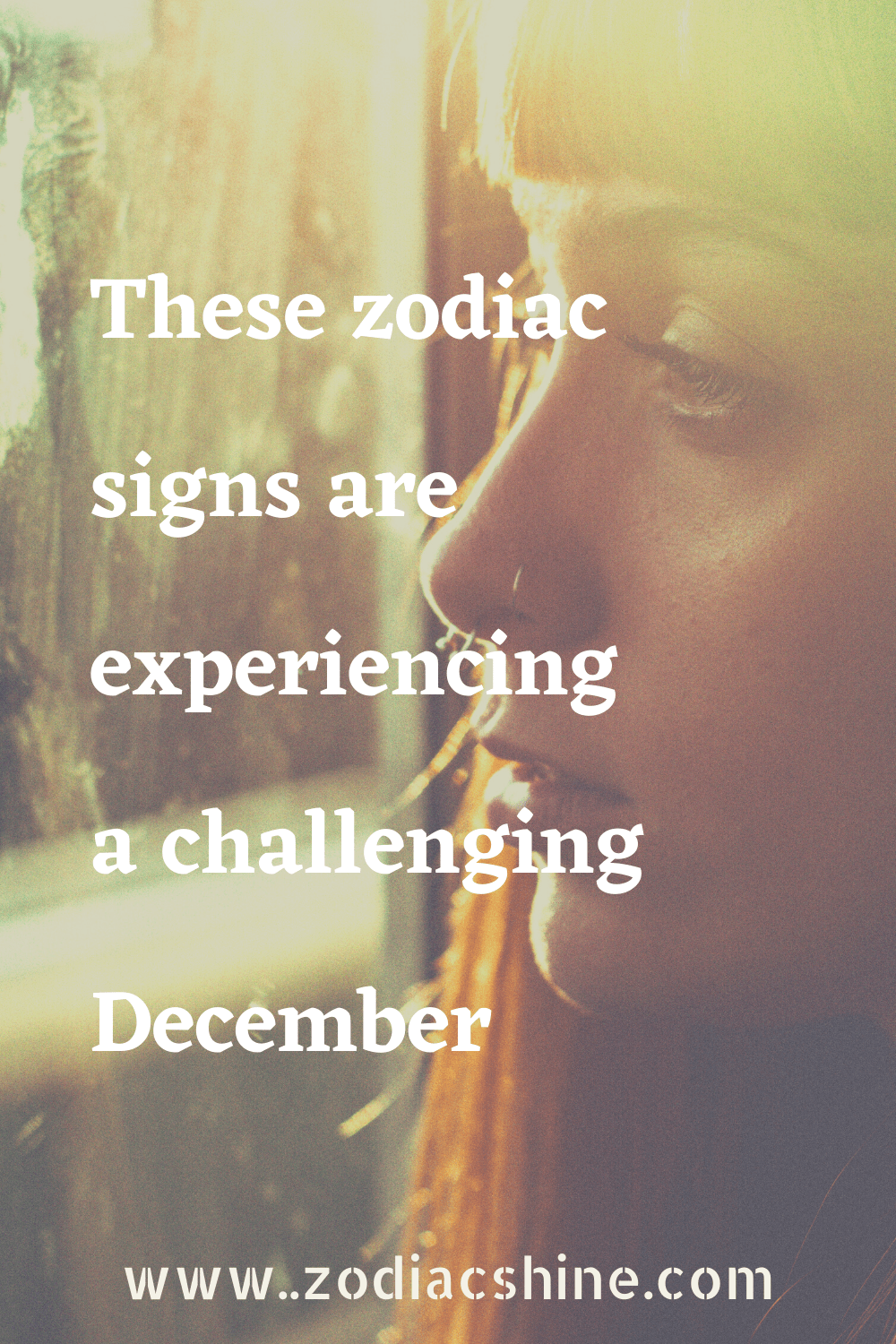 These zodiac signs are experiencing a challenging December