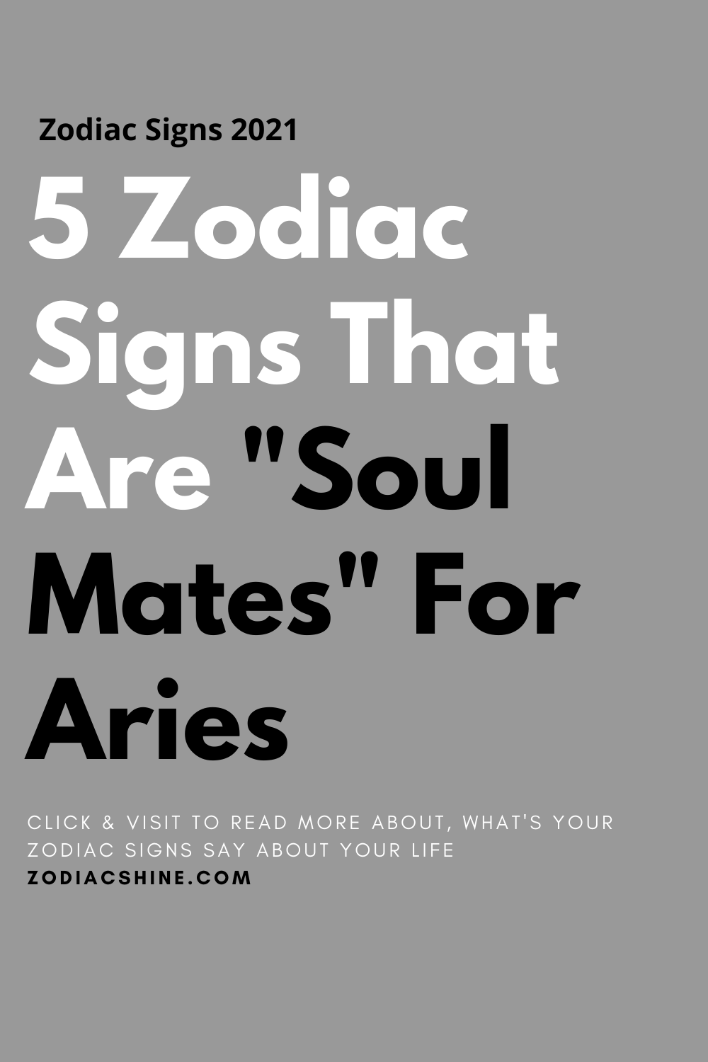 5 Zodiac Signs That Are Soul Mates For Aries