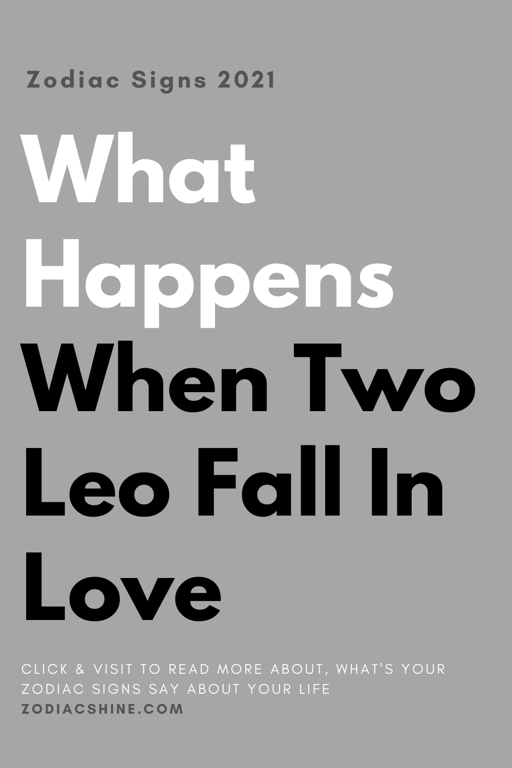 What Happens When Two Leo Fall In Love