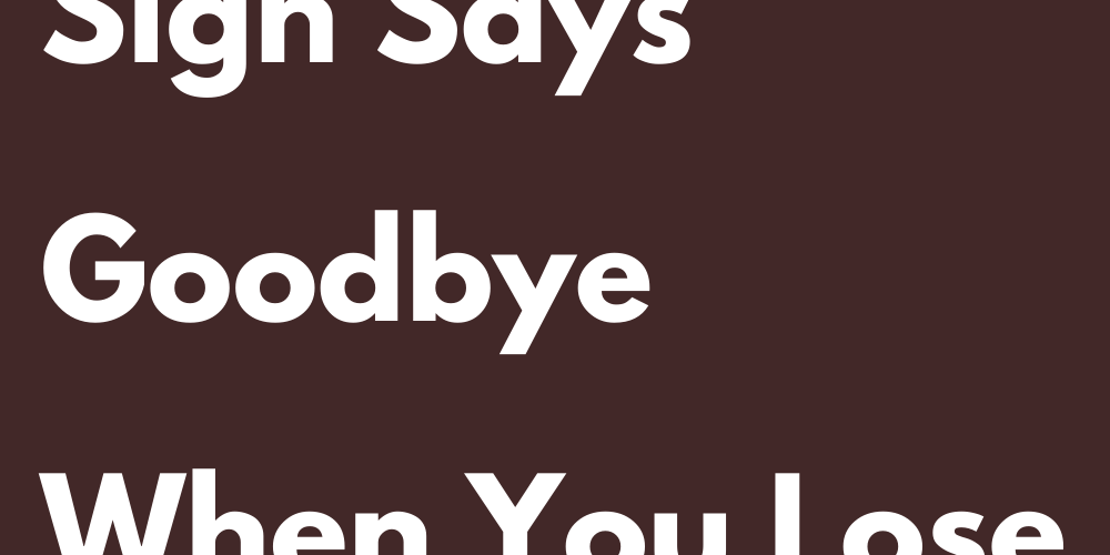 How Every Sign Says Goodbye When You Lose A Loved One