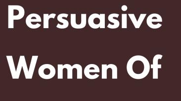 The Most Persuasive Women Of The Zodiac