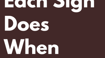What Each Sign Does When Drunk