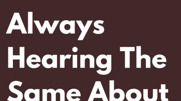 Signs That Tired Of Always Hearing The Same About Them