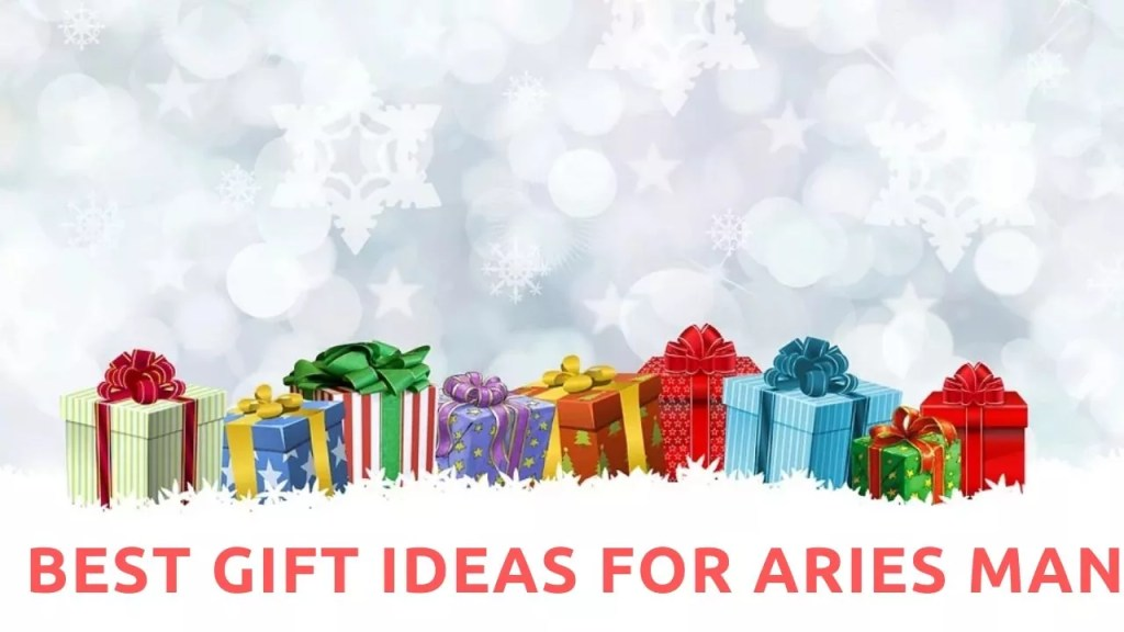 Best Gift Ideas For Aries Man