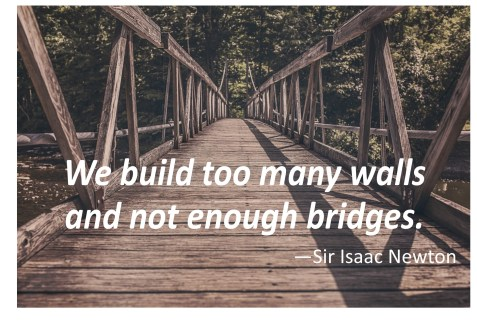 walls vs bridges