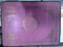 Schoolgirl's celestial manuscript at Ian Kahn's booth