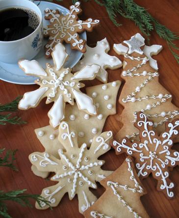 Holiday Sugar Cookies | ZoeBakes photo by Zoë François