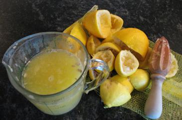 Juiced Lemons | ZoëBakes | Photo by Zoë François
