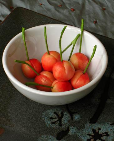 marzipan cherries