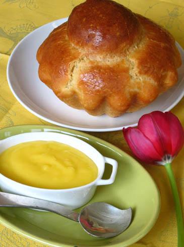 Brioche à Tête and Lemon Curd | ZoëBakes | Photo by Zoë François
