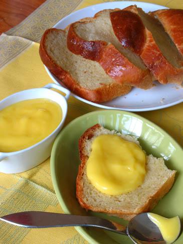 Brioche à Tête and Lemon Curd   ZoëBakes   Photo by Zoë François