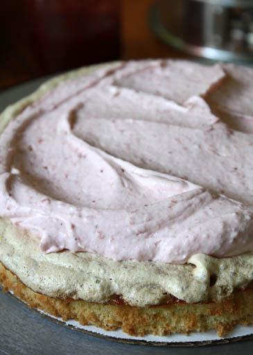 Summer Strawberry Torte Recipe | ZoëBakes | Photo by Zoë François