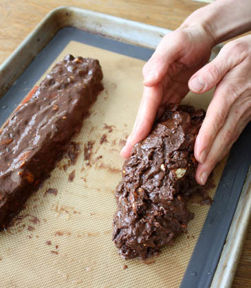 Chocolate, Ginger and Grapefruit Biscotti Recipe | ZoëBakes | Photo by Zoë François